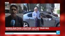 """Mobilisation contre la loi travail : """"Pas de solution trouvée par les syndicats CGT et FO avec le ministre de l'Intérieur"""""""
