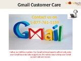 Dial Gmail customer service number 1-877-761-5159