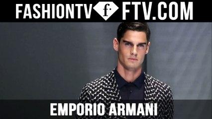 Milan Men Fashion Week Spring/Summer 2017 - Emporio Armani   FTV.com