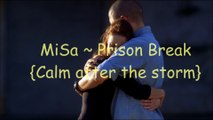 Michael and Sara Prison Break ~calm after the storm