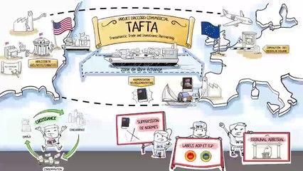 Dessine-moi l'éco - Comprendre les enjeux du TAFTA