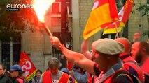 Betiltott egy munkajogi reform elleni tiltakozást a francia rendőrség