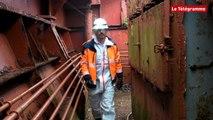 Captain Tsarev. Les Recycleurs bretons ont démarré le chantier