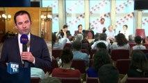 """Benoît Hamon """"heureux que Bernard Cazeneuve ait pu trouver un accord"""" avec les syndicats"""