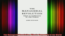 Free Full PDF Downlaod  The Managerial Revolution What is Happening in the World Full Free