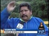 Diez familias afectadas por las fuertes lluvias en Azuay
