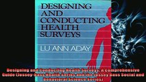 READ book  Designing and Conducting Health Surveys A Comprehensive Guide JosseyBass Health Series  FREE BOOOK ONLINE