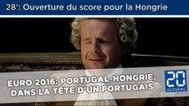 Euro 2016: Portugal-Hongrie, dans la tête d'un Portugais