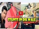 Varun Dhawan Shares His Action Stunts Pics From DILWALE Sets!