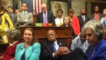 House Democrats demand gun control legislation