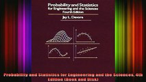 READ book  Probability and Statistics for Engineering and the Sciences 4th Edition Book and Disk Full EBook