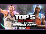NBA 2K16 Top 5 Historic Teams Missing - Teams That Should be Added in NBA 2K17