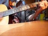 GABRIELLE leçon de guitare  JOHNNY HALLYDAY  guitar lesson