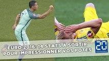Euro 2016: 14 stats à sortir sur la phase de poules pour impressionner vos potes