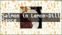 Recipe Salmon in Lemon-Dill Sauce
