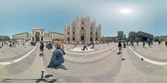 Milan, Piazza del Duomo 360 Virtual Reality Experience