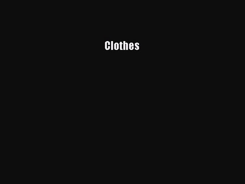Read Clothes Ebook Free