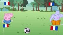 peppa pig fairy football euro france teeth crying! PEPPA PIG FOOTBALL EURO FRANCE 2016! FUNNY STORY