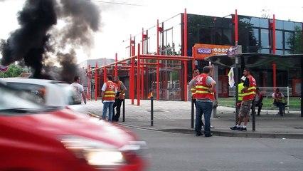 Béthune : blocage du dépôt de bus Tadao par la CGT