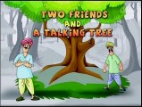The Two Friends & A Talking Tree ! Funny English Animated Stories ! Kids Digital