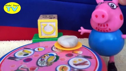 Peppa Pig Mummy Pig is pregnant visit hospital Play Doh Preg toys new episode in english