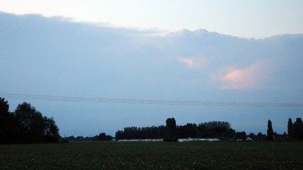 Orage : les éclairs dans le ciel du Béthunois