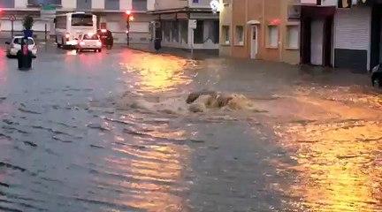 Inondations Boulogne sur mer