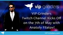 VIP-Grinders Twitch Channel Kicks Off on the 7th of May with Anatoly Filatov! | Party Poker Review | Poker Affiliate Lis