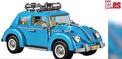 VÍDEO: ¡Qué 'cucada'! Mira el Volkswagen New Beetle de Lego