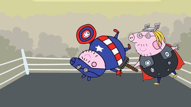 #Peppa Pig em Português Brasil 2016 #Peppa Pig Thor  #Peppa Pig Batman