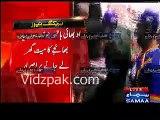 MQM Amjad Sabri ki laash per siayast karne lagi -- KKF ki CHHIPA se Amjad Sabri ke jasd-e-khaaki leker jane per talakh k