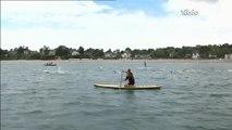 Sport : Le Morgat Waterman Challenge à Crozon