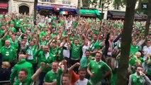 Les Irlandais, la palme d'or des supporters les plus sympas