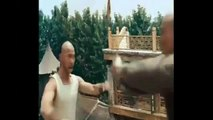 Jet Li (Rap) and  Once upon a Time in China III Fight Scene 3 Jet Li fight lions