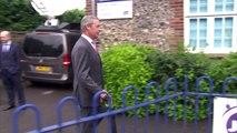 Ukip leader Nigel Farage casts vote in EU referendum