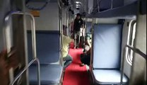 Quick Look Inside in Buffet Car & AC 3 Tyre Coach View of 02107 LTT-Lucknow(LKO) AC Suvidha Express