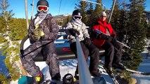Kirkwood, Ca Snowboarding 12-22-13