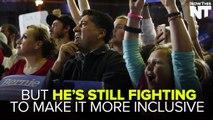 "Bernie Sanders Is Still Fighting For The Democratic Party To ""Open The Door"""