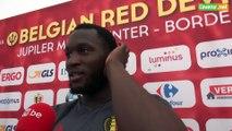 "Romelu Lukaku n'a pas douté: ""Je ne stresse pas"""