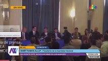Ramos Allup denunció la situación de Venezuela ante la OEA