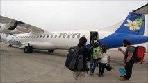 Lao Airlines Flight Luang Prabang, Laos to Hanoi, Vietnam - ATR72