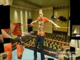 'WWE Superman' Wrestling In The WWE Wrestlemania 26 Ring!