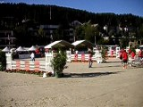 Hommes-chevaux au Gant Jumping Horse Show à Crans-Montana