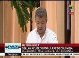 Enumera pdte. Santos beneficios de acuerdos gobierno de Colombia- FARC