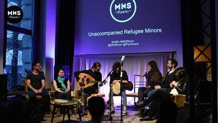 Live Nabil MKS Room #Refugees @Berlin