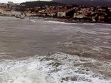 lendemain de tempête en mer Banyuls sur mer 66 27 décembre 2008