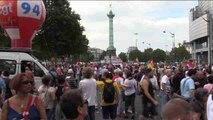 Loc Transcurre sin incidentes la manifestación contra la reforma laboral en París