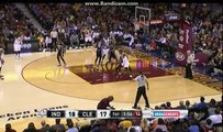 LeBron James 29 pts vs Pacers - Indiana Pacers vs Cleveland Cavaliers - NBA - 08/11/2015