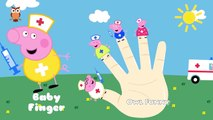 Peppa Pig Playing as Doctors and Nurses Daddy Finger Song | Nursery rhyme collection and m