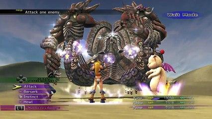 YRP vs Angra Mainyu - FINAL FANTASY X/X-2 HD Remaster